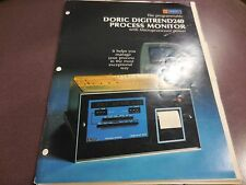 Doric Instruction Manual For Digitrend 240 Process Monitor