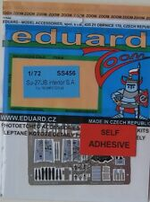 Eduard 1/72 SS456 Colour Zoom etch for the Trumpeter Su-27UB Flanker