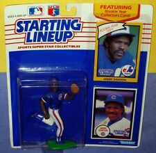 1990 ANDRE DAWSON Chicago Cubs - low s/h - Starting Lineup 1977 Expos card