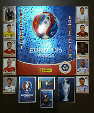 PANINI EURO 2016 FRANCE -EMPTY ALBUM+FULL SET 680 - STAR SWISS/SVIZZERA EDITION!