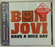 Bon Jovi Have a Nice Day CD-Maxisingle Japon 2005 4 temas audio + 1 tema video