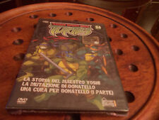 TEENAGE MUTANT NINJA TURTLES - VOL. 34   ( 1 Disco ) EDITORIALE  Dvd ..... Nuovo