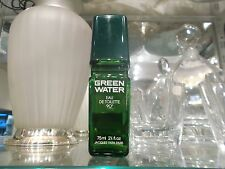 GREEN WATER Jacques Fath 75 ml eau de toilette NO BOX RARE VINTAGE PERFUME
