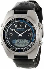 Casio AMW700B-1A Men's Analog Digital Fishing Timer Moon Data Watch