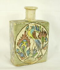 Flacon ou bouteille Iznik ancienne 16 cm 546 g  Old vial or bottle Iznik