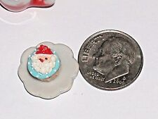 1pc miniature little dollhouse candy Christmas Chocolate Cupcake santa food
