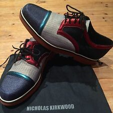 Extremely Rare - New Size 8 Nicholas Kirkwood Oxford Shoes Brogues EU 42