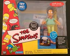 The Simpsons World of Springfield Bowl-A-Rama with Apu - Playmates Toys - MIB
