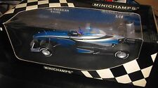 PAULS MODEL ART MINICHAMPS 1:18 F1 BAR SUPERTEC 01 J VILLENEUVE 1999 TESTCAR