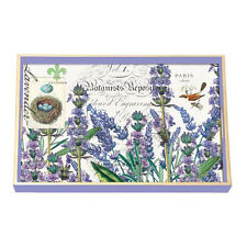 Michel Design Decoupage Rectangle Wooden Vanity Tray – Lavender Rosemary WVTD81