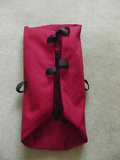Bugaboo Frog  Carrycot/Bassinet Base Fabric in  RED Good Condition