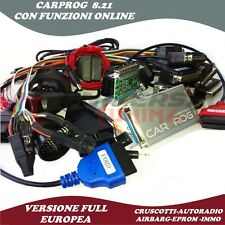 CARPROG V 8.21 FULL ONLINE RESTORATION AIRBAG DASHBOARDS KM CAR RADIO SCODIFICHE