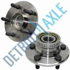 Pair: 2 New REAR 1995-97 Neon ABS Complete Wheel Hub and Bearing Assembly