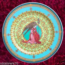 """ROSENTHAL VERSACE L'ange Gabriel limited edition 1995 plate Ø 12"""" with box"""