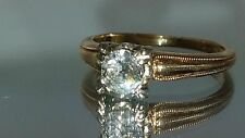 .5carat solitaire engagement ring on 14kt yellow gold size5