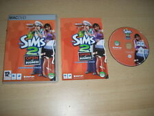 THE SIMS 2 open for Business add-on pacchetto di espansione Apple Mac DVD SIMMS Sims 2