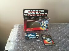 Transformers G1 Lot  Vintage Autobot Mirage  Action Figure With Box!