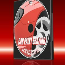 VEHICLE SPRAYING SIMPLE GUIDE DVD EASY DIY CAR RESPRAY &TOUCHUP SKILLS NEW DVD