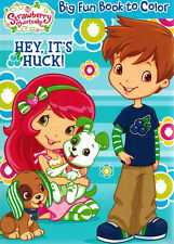Strawberry Shortcake - Coloring Book  - Hey It's Huck !