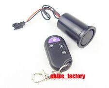 Ebike 36V 48V Alarm System Battery Case Lock Safety Remote Electric Bike Scooter