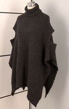 SARAH PACINI PONCHO LAGENLOOK JUMPER ONE SIZE WOMENS ALPACA WOOL SHRUG CARDIGAN