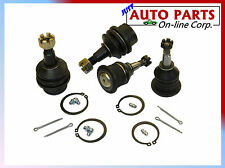 2 UPPER 2 LOWER BALL JOINTS AVALANCHE 1500 ESCALADE 02-06 SUBURBAN 1500 EXPRESS