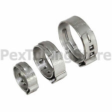 """(50) 1"""" PEX Stainless Steel Cinch Clamps SSC by Oetiker Made in USA, NSF/ASTM"""