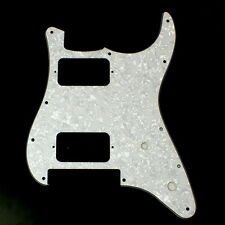 Charvel SO CAL Style Replacment Guitar Pickguard ,4ply White Pearl Celluloid