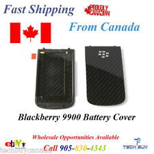 BlackBerry Bold 9900 Battery Cover Back Black
