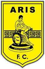 """Aris FC Greece Football Soccer Car Bumper Window Notebook Sticker Decal 4""""X5"""""""