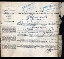 LAVAVEIX-les-MINES (23) CHEMIN de FER P.V. PARIS à ORLEANS Chef de Gare en 1908
