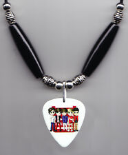 1 One Direction Cartoon Guitar Pick Necklace #2 1D