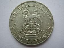 1922 George V silver shilling, VF.