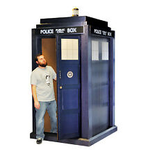 TARDIS 3D Doctor Who Dr. Who Huge 3-D Lifesize CARDBOARD CUTOUT Standup Standee