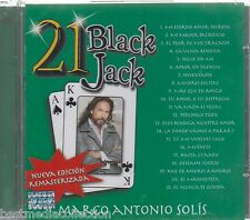 Marco Antonio Solis CD NEW 21 Black Jack ALBUM 21 Grandes Exitos SEALED