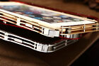 Luxury iMatch Ultra-thin Aluminum Steel Metal Frame Case For iPhone 5S 6 6S Plus