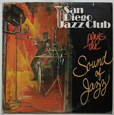 San Diego Jazz Club Plays The Sound Of Jazz Rare Private LP USA 1977 Folk
