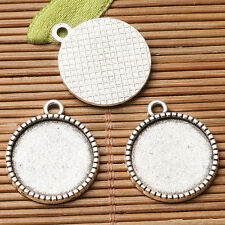 Round  shaped cabochon setting Single-sided design for multi- sizes to PICK