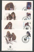 1991 - LOTTO/19301B - GUINEA EQUATORIALE - MANDRILLO 4 FDC.
