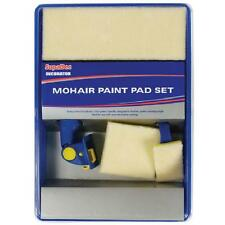 MOHAIR DECORATING DECORATORS  5 PIECE PAINTING PAINT PAD & TRAY SET FREE POSTAGE