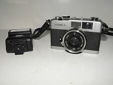 Vintage Yashica 35-ME Film Camera Tested & Working With Working Light Meter