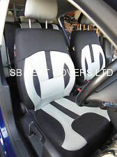TOYOTA CARINA / YARIS CAR SEAT COVERS ROSSINI GREY ELEGANCE ROS 0213