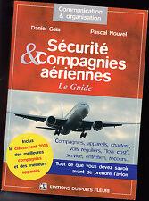 Sécurité et Compagnies aériennes  Le Guide  - Voyage - Avion