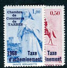 France timbres de grève de 1968 Tarbes N° 9 et 10 cote : 200€