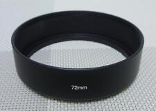 72 mm Metal Lens Hood for 72mm Filter Thread Standard Camera Lens MH-72S