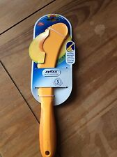 MELON SLICER 4 TOOLS IN 1 ZYLISS CUTTING TOOL REMOVES RIND SEEDS YELLOW BNWT