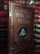 The Inventions, Researches & Writings of Nikola Tesla New Sealed Leather Bound
