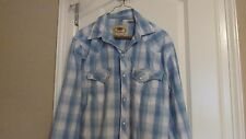 LARRY MAHAN MEN'S L/S SHIRT SIZE MEDIUM