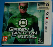 Green Lantern - Rise of the Manhunters - Nintendo 3DS 3DS - PAL