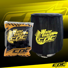 Water Guard Cold Air Intake Pre-Filter Cone Filter Cover for Mazda Medium Black